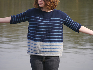 Pull_tricot_laine_tweedy_rayures_stripes_diy_bleu3_small2