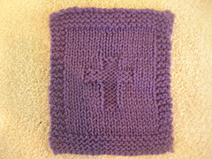 Ravelry Prayer Square With Cross In Center Pattern By