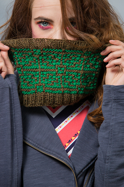 Otranto Cowl by Kathleen Sperling