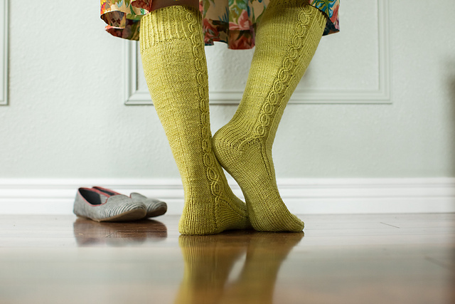 Washington State Knee Socks by Kate Atherley