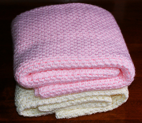Free Crochet Baby Blanket Patterns Simple Baby Blankets : Id Rather Be Hookin: Free Baby Afghan Crochet Patterns ...