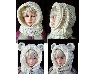 Crochet Hood Pattern - Goldilocks