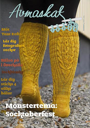 Avmaskat magazine Ravelry