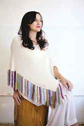 Fringed Poncho, Tattooed PDF