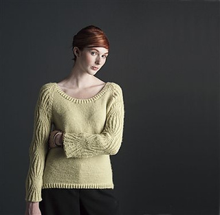 Hourglass-sleeve-pullover