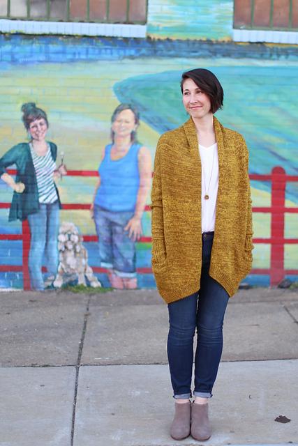 大披的诞生 - Tina - Tina的手工编织的博客