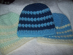 Free Crochet Pattern For Cluster Beanie : Ravelry: Little Cluster Beanie Babe Hat. Free Crochet ...