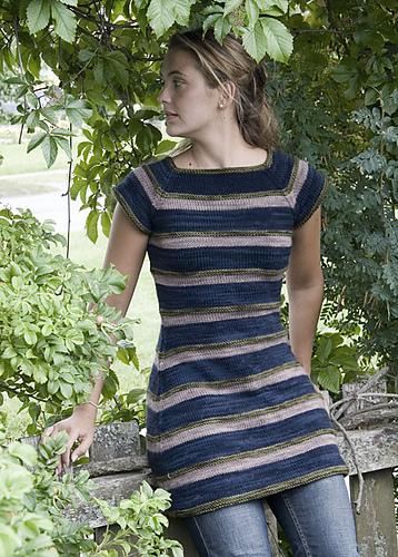 Amagansett Striped Dress PDF