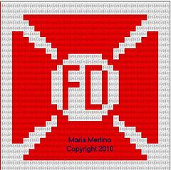 Maltese Crochet Patterns : Ravelry: Maltese Cross Fire Fighter Dish Cloth Afghan Tapestry Chart ...