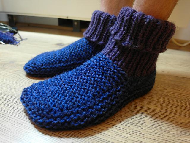 Needle Bed Socks