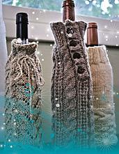 Wine Bottle Cozies (FT235) PDF
