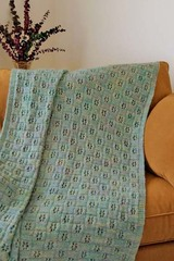Flower Eyelet Afghan (FT226) PDF