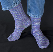 Spring Flower Socks PDF