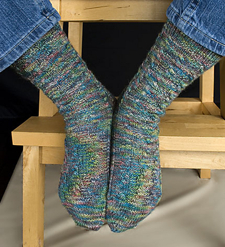 April Winds Sock PDF