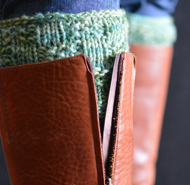 Cobblestone Boot Toppers by Evin Bail O'Keeffe