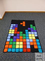 Ravelry Tetris Afghan Pattern By Laura Brozo