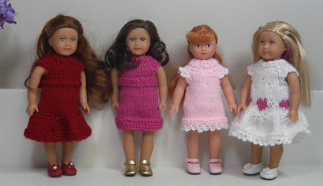 Karen Mom Of Threes Craft Blog Ralvelry Free Mini Doll Dress