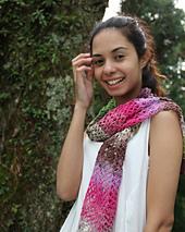 Hanami NK315 Crochet Scarf PDF