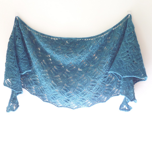 Photo of Current knit shawl