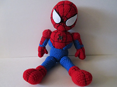 Ravelry: Crochet Spiderman doll pattern by Laurie LeFave