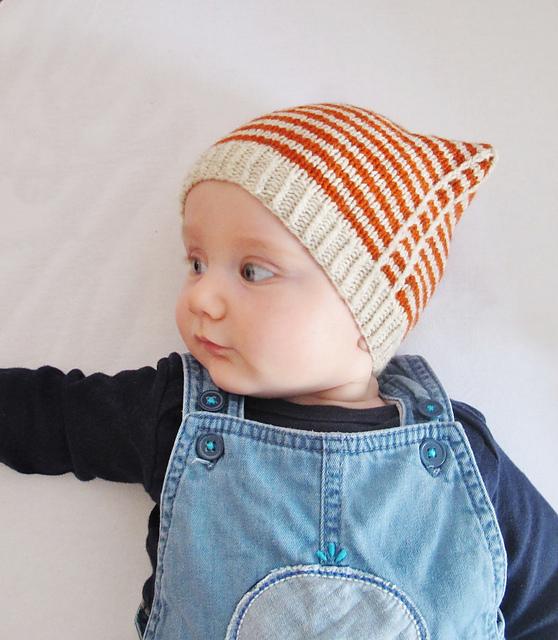 Tuque pour bébé tricotée Good Sport par Dani Sunshine