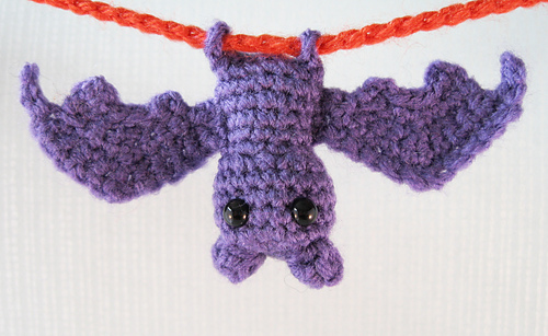 Ravelry: Itty Bitty Bat Amigurumi pattern by Lucy Collin