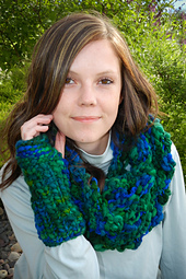 Bozeman Winter Cowl & Fingerless Mitts PDF