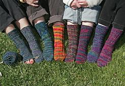 Knit Night Socks PDF