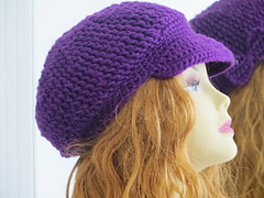 MKhats: How to crochet brim for newsboy pattern - YouTube