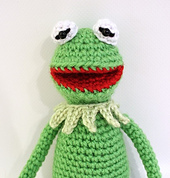 Free Crochet Pattern For Kermit The Frog Hat : Ravelry: Kermit the Frog crochet pattern pattern by Paula Gee
