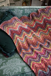 #18 Feather-and-Fan Lace Blanket PDF