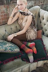 #23 Spiral Lace Socks PDF