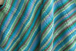 #32 Cable and Rib Blanket PDF