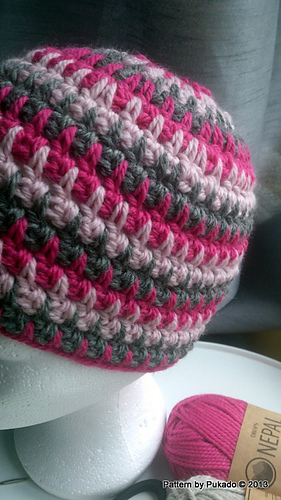 Ravelry: Double Up Hat pattern by Patricia Stuart