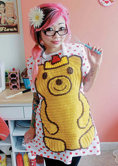 Honey Bear Apron par Twinkie Chan