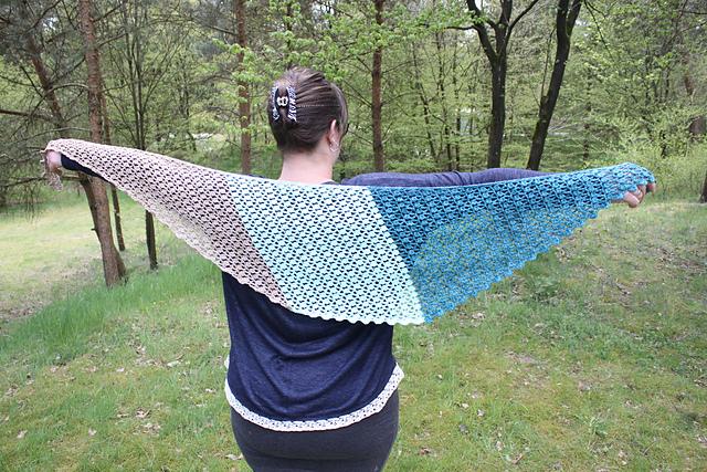 sjaal 3 steken bandjesgaren