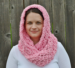 Ravelry Hooded Crochet Infinity Scarf Pattern By The