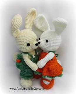 Amigurumi Bunny Sharon Ojala : Ravelry: Overalls For Bunny pattern by Sharon Ojala