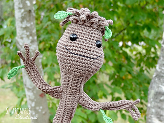 Amigurumi Patterns Groot : Ravelry: Baby Groot from Guardians of the Galaxy pattern ...