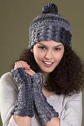 Bliss Hat & Fingerless Gloves PDF
