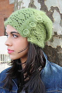 Snowdrop Slouch Hat