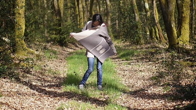 提花大外套-原文图解 - Tina - Tina的手工编织的博客