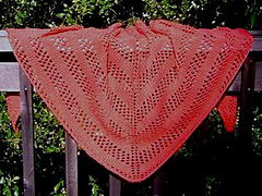 Chevron Lace Shawl Crochet Pattern : Ravelry: Chevron Shawl pattern by Annette Shirley