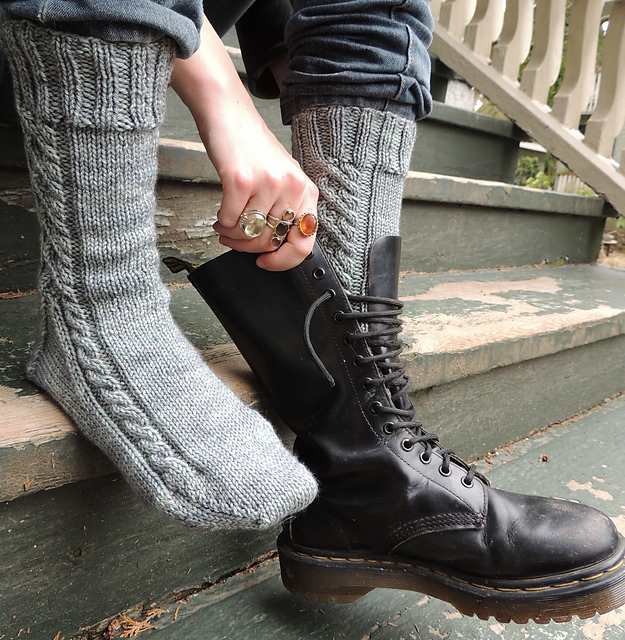 The Backloop Designs Knitting Patterns A Word About Bootsocks