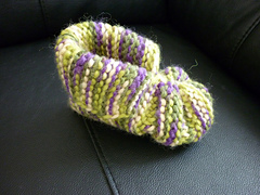 BABY BOOTIES LOOM PATTERNS Free Baby Patterns