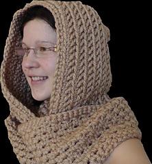 Ravelry: Scoodie / Kapuzenschal / шарф с капюшоном pattern ...