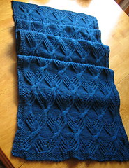 Ravelry Cable Knit Throw Pattern By Brenda Lewis
