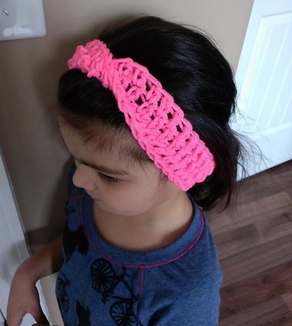 Child Xfinity Headband Crochet Pattern