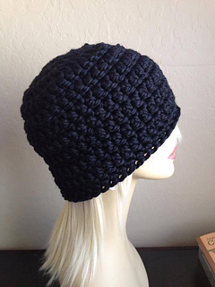 Free Crochet Hat Patterns With Chunky Yarn : Ravelry: Hubbys Chunky Hat pattern by Brooke Olson