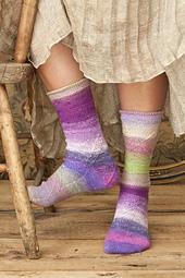 #7 Cabled Socks PDF